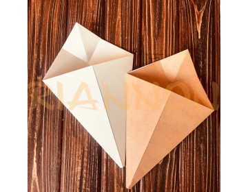 Packaging envelope-cone for French fries