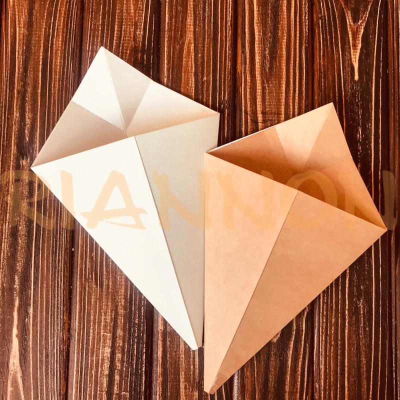 """Упаковка конверт-конус для картоплі """"Фрі"""""""
