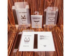 Пластикові коробки для нижньої білизни